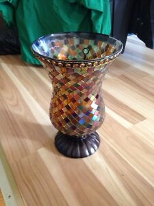 PARTYLITE MOSAIC MIRROR/TRAY. Or hurricane candle holder  Kingston Kingston Area image 2