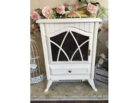 Gorgeous electric fire shabby chic