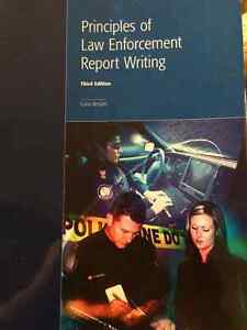 principles of report writing for law enforcement pdf