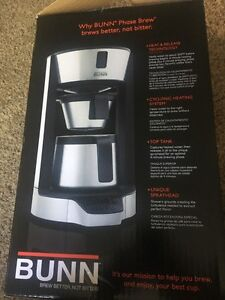 BUNN HT Phase Brew 8-Cup Thermal Carafe Home Coffee Brewe