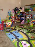 Part time space available. Stone road Home daycare