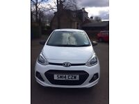 Hyundai i10 white.... 13,500miles ...Immaculate condition inside & out *Must be seen to appreciate