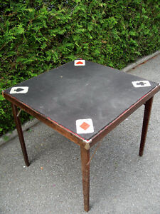 Table a carte ancienne et +