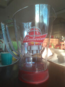 Budweiser Red Light Pitcher Limited Edition Brand New