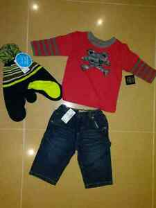 Brand New baby boys clothes size 6-9mth reg $50+tax