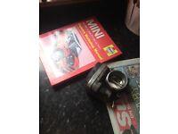 Mini Cooper throttle body and Haynes manual