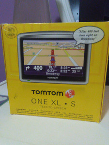TOM TOM One XL - S Text to speech GPS Navigator