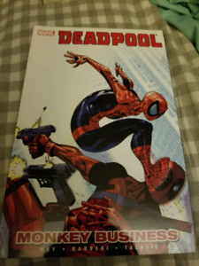 Deadpool Monkey Business Softcover
