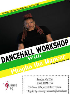 Dancehall dance workshop all level welcome