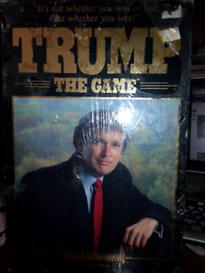 Collectable: Original 1989 Trump The Game, still sealed.