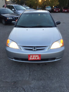 2003 Honda Civic LX fully loaded ,Auto,Air,Safety and Emation