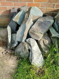 Grey/blue Vermont stone