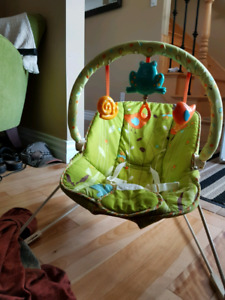 Fisher Price bouncy chair with toy bar