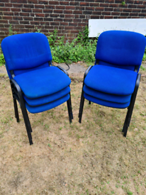 Stackable chairs (£5 each)