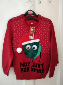 NEW Christmas Jumpers M&S Kids Various Sizes