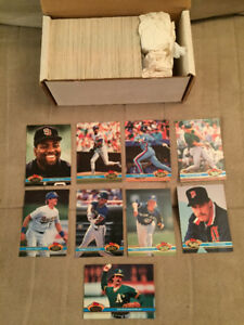 1991 Stadium Club Series 2 Baseball, Complete Set, Mint !