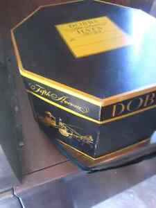 Vintage Original Dobbs Fifth Ave NY Hexagonal Mens Hat and Box  London Ontario image 3