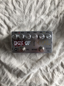 Pedals, Amp, Speakers and Guitar for Sale