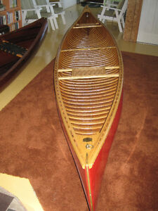 Cedar Canvas Canoe