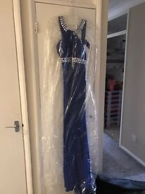 Blue Prom dress size 8