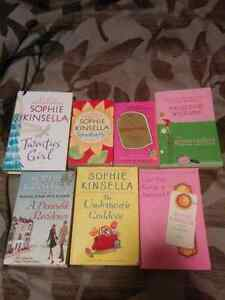 Sophie Kinsella book lot (chick flick)