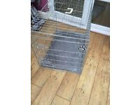 "Dog cage 35""x24"" or 3 foot by 2 foot ."