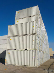 SEA CONTAINERS 20' DOUBLE DOOR NEW (DOORS AT EACH END)