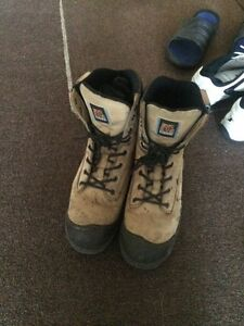 Work boots steel toe shoes