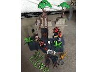 Playmobil adventure treasure temple 4842