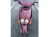 Moped 50cc Yamaha neos £125