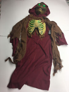 Child's Light Up Ghoul/Skeleton Costume