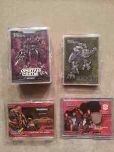Transformers movie cards (Topps 2007), foil cards, etc: COMPLETE