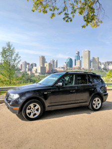 AWD BMW X3 SUV 3.0si with Remote Car Starter + Winter Tires
