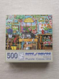 500 piece cat puzzle