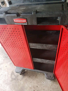 Standing roller toolbox