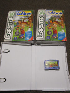 Leapster Game Cartridges - New, some French - $9.00 ea.