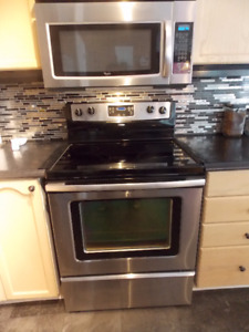 Stainless Steel Whirlpool Microwave