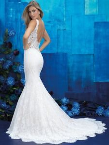 Gorgeous Allure Bridal Wedding gown - Size 8