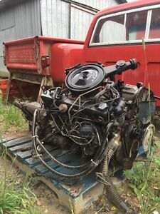 Chevy 250 engine and transmission