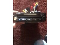 Flip out DVD car stereo