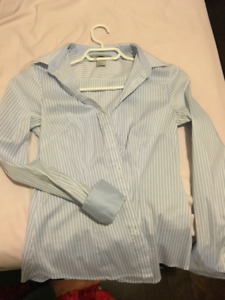 Fitted Dress Shirt Size 4/34
