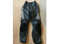 Triumph ladies motorcycle trousers - XS