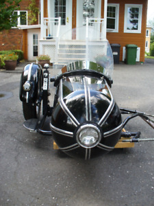 REPLICA OF THE CLASSIC SIDECAR BOAT STEIB S 500
