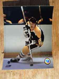 BOBBY ORR Boston Bruins 8 X 10 Photo Home Uniform