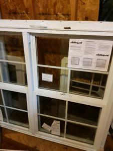 Vinyl windows (brand new)
