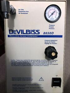 DeVilbiss Heavy Duty Aerosol Compressor