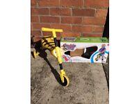 Scuttle bug ride on trike bumblebee toddler 3 wheel tricycle bike