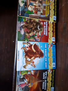 4 Geronimo Stilton Hard Cover Comics