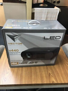 4K home theater Projector - Brand New