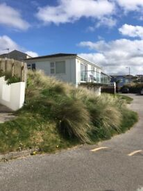 Self Catering Chalets in Hayle West Cornwall with superb Sea Views and easy beach access